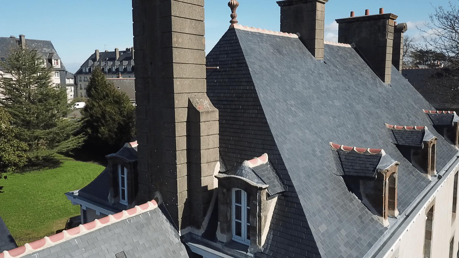 restauration de toiture au clou