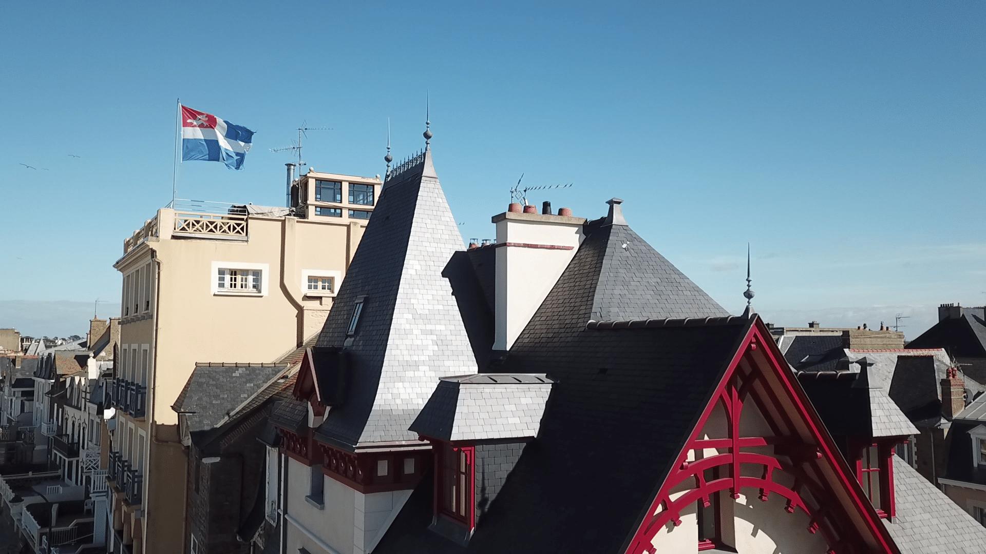 Rénovation toiture ardoise et cuivre